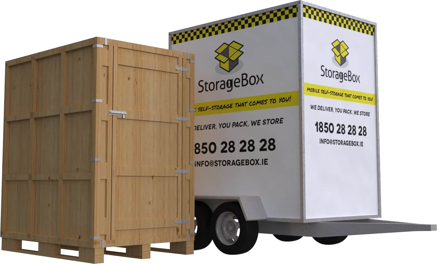 Standard StorageBox - Mobile-Self-Storage-Box-Cheap-Storage-Unit-Dublin-Meath-Louth-Drogheda-Ireland